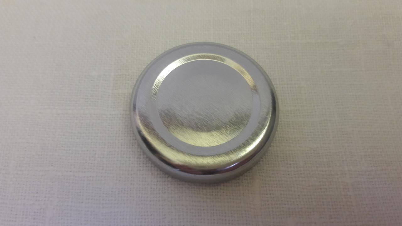 Крышка закаточная твист-офф размер 53 мм серебро