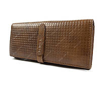 Коричневый кожаный кошелек Tailian, для повседневной носки для Женщины
