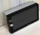 Автомагнітола Pioneer 7026 GPS, 2DIN, BT, SD, USB,AUX,Fm Корея, фото 5