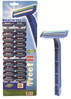 Станок Treet 2 лезвия с увлажняющей полосой, планшет (24шт./пл., 48шт./бл. 576шт./ящ.)