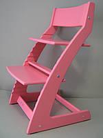 Растущий стул Тимолк, растущий стул Q5 розовый/коралловый