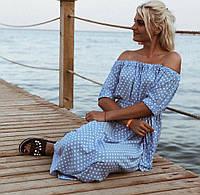 Платье женское в горошек , фото 1