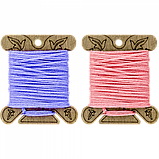 Бобіни (шпулі) для муліне дерев'яні ТМ Чарівна країна (10шт) FLC-067(S), фото 2