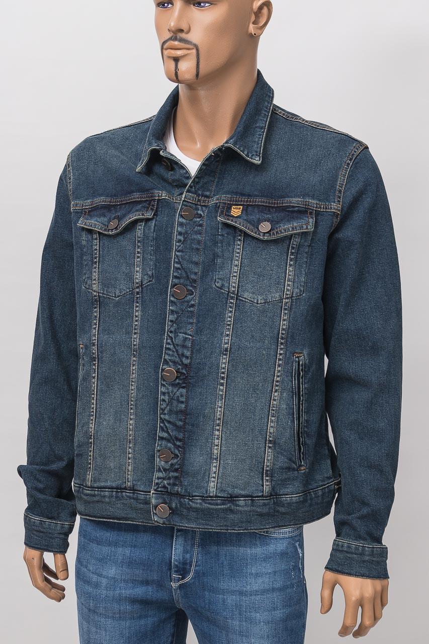 f52633864a5e8 Куртка джинсовая мужская VIGOSS V 96234 7221 V78 D BLUE DNM: продажа ...