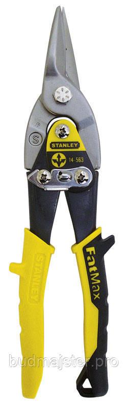 Ножиці Stanley по металу Aviation Offset, прямі, 300 мм