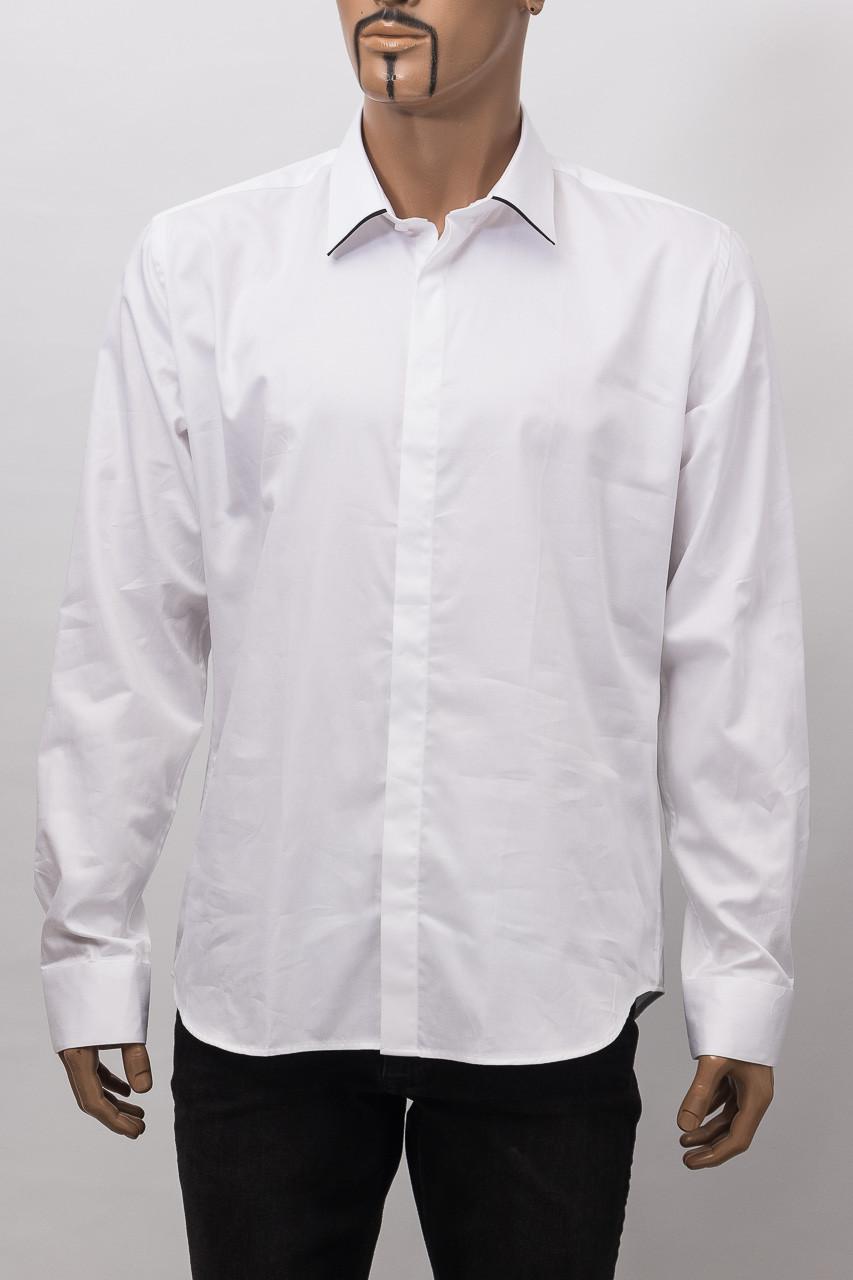Рубашка с длинным рукавом мужская ZEN-ZEN 00514 BEYAZ