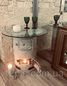 Дизайнерский стол ручной работы в стиле Шебби шик