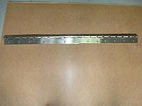 Крепление для  Штор  ПВХ  нержавейка   CN - 300   c пазами  (1 м карниз ,4 планок 300 мм ,винты)