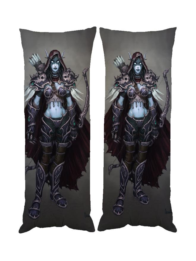 Дакимакура Сильвана Отрекшиеся World of Warcraft, Forsaken 40*100 см dak0659