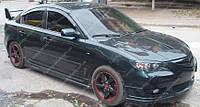 Пороги Mazda 3 BK седан (аэродинамический внешние пороги Мазда 3 BK sedan)