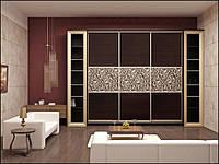 Шкафы купе в гостиную на заказ Киев, дизайн, фото, фото 1