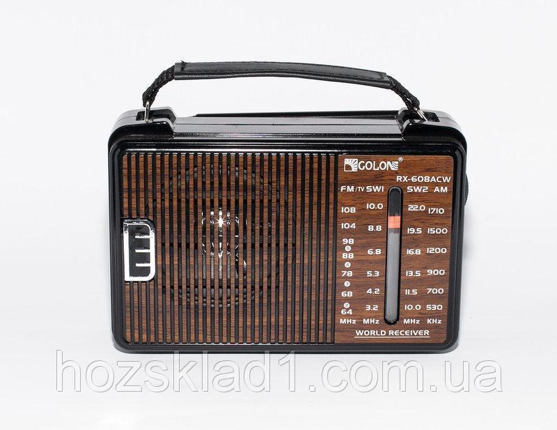 Всеволновой радиоприемник GOLON RX-608ACW