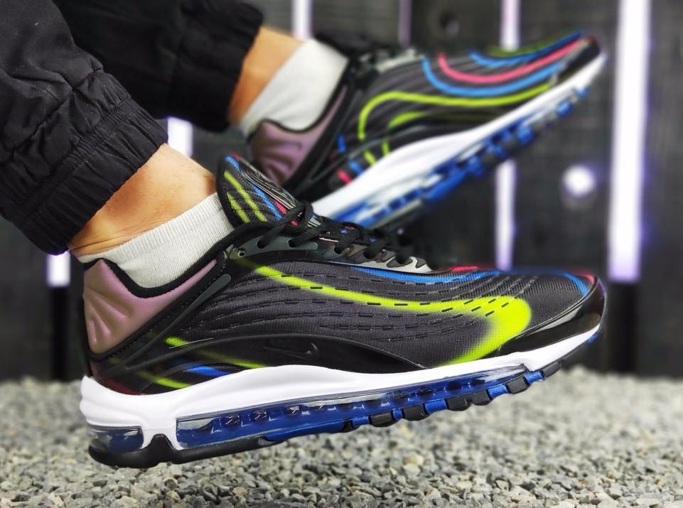 1ab5fda1 Мужские кроссовки Nike Air Max 98 (найк аир макс 98, черные / белые ...