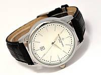 Мужские часы Vacheron на черном ремешке, кварцевые