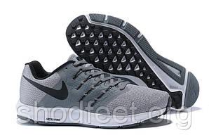 Чоловічі кросівки Nike Run Swift Grey Wolf Black White