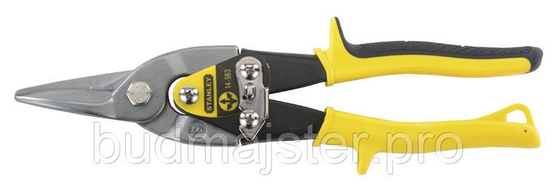 Ножиці Stanley по металу Aviation Offset прямолінійний зріз, 250 мм