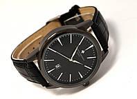 Мужские часы Vacheron на черном ремешке, кварцевые VC02