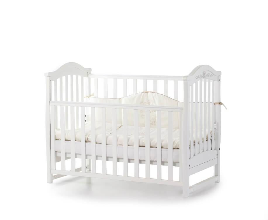 Детская кроватка  Верес Соня ЛД3 белый (03.1.1.1.06)