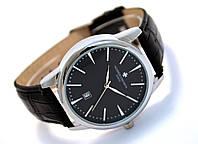 Мужские часы Vacheron на черном ремешке, кварцевые VC03