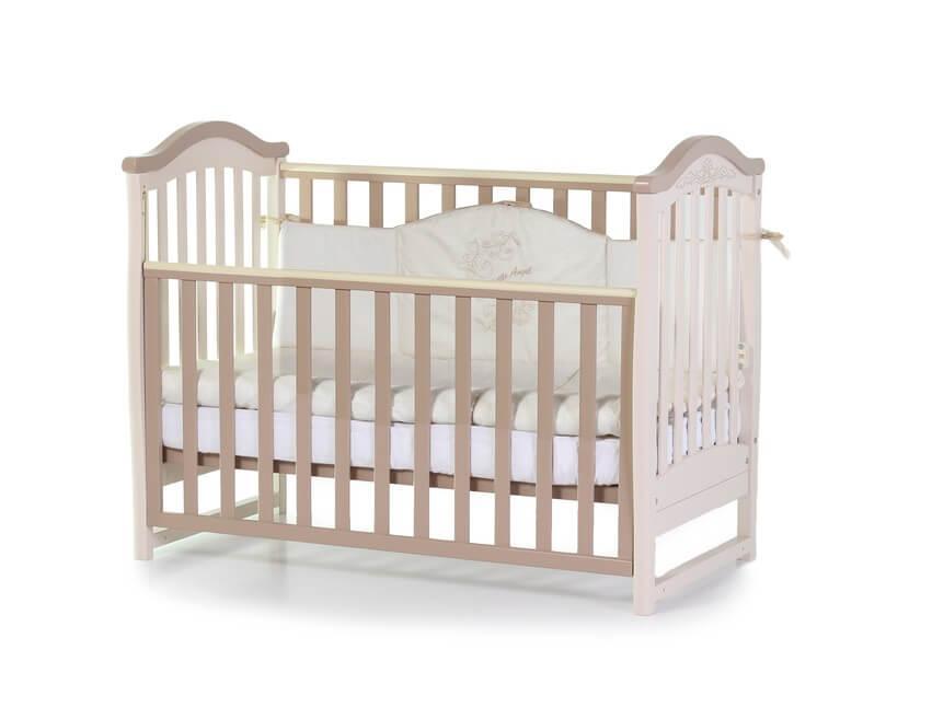 Детская кроватка Верес Соня ЛД3 капучино (03.1.1.1.10)