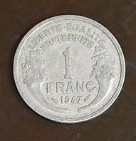 Франция 1 франк 1947 год(ББ)