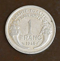 Франция 1 франк 1948 год(ББ)