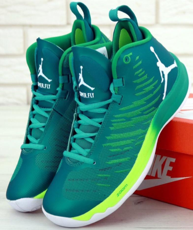 Мужские кроссовки Nike Air Jordan Super Fly (Найк Аир Джордан Супер Флай баскетбольные)