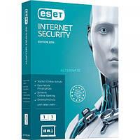 ESET Internet Security 1 ПК 1 год Продление