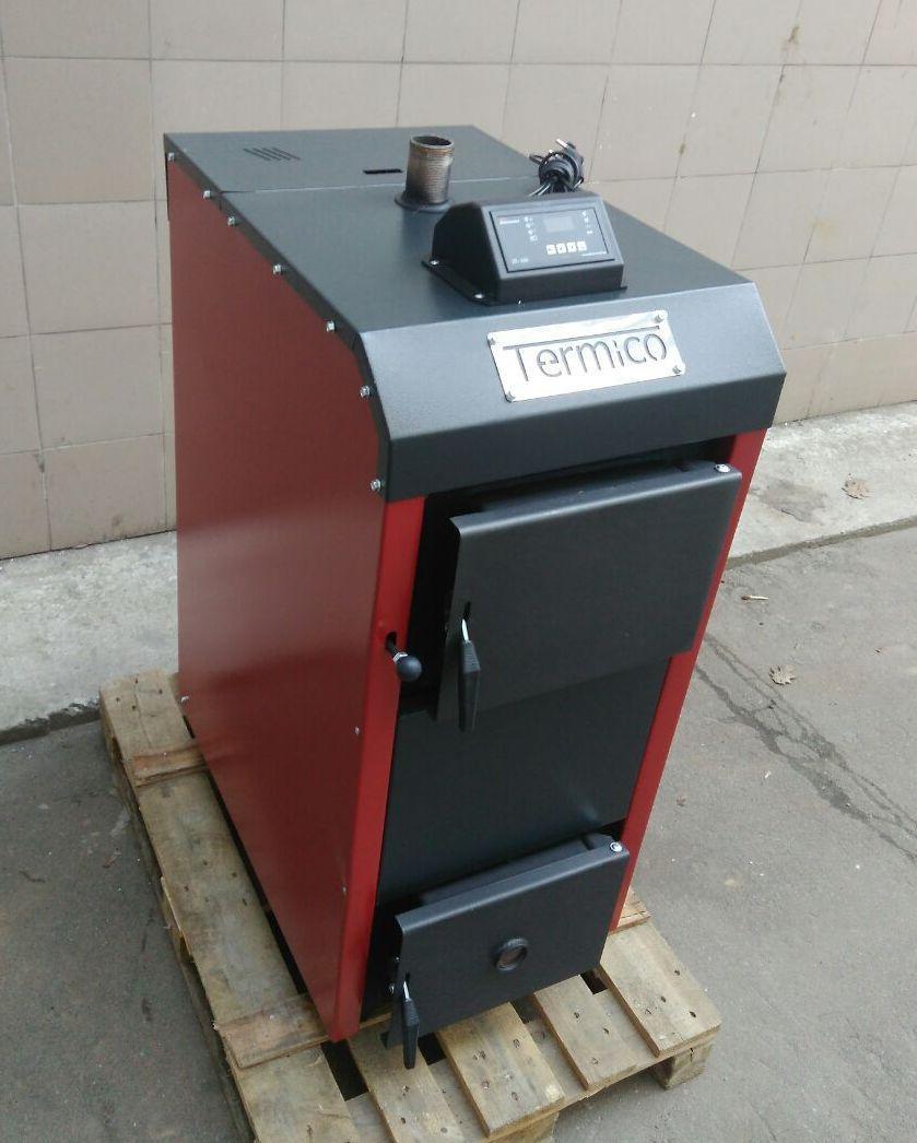 Пиролизный котел Termico ЕКО-12П 12 кВт на автоматическом управлении