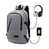 Мужской рюкзак с USB выходом Cityman, фото 1