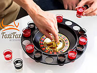 Пьяная алко рулетка с рюмками Roulette Set