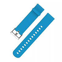 Amazfit Bip Комплект для смарт годин (ремінець і бампер), Light blue, фото 2
