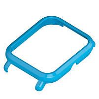 Amazfit Bip Комплект для смарт годин (ремінець і бампер), Light blue, фото 3