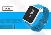Amazfit Bip Комплект для смарт годин (ремінець і бампер), Light blue, фото 4