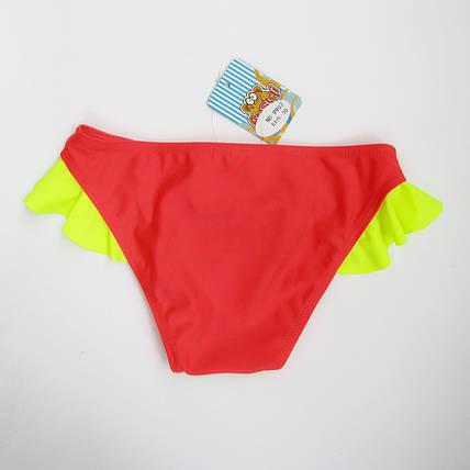 Купальные детские плавки для девочки Коралл, фото 2