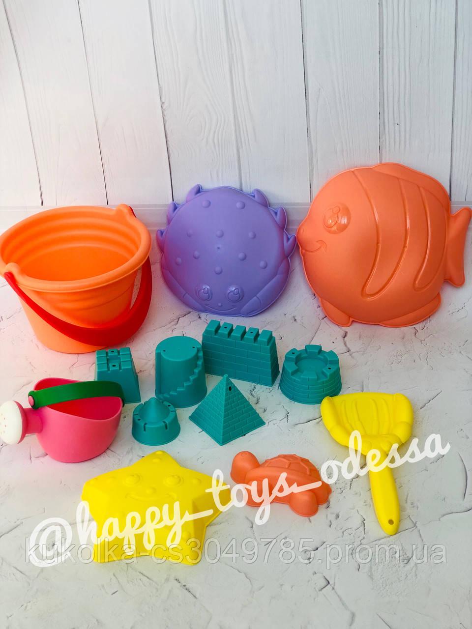 Набор для игр с песком ( силиконовые формы )