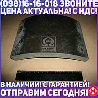 ⭐⭐⭐⭐⭐ Накладка тормоза КАМАЗ безасбестовый (производство  УралАТИ)  5511-3501105