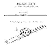 Amazfit Bip Комплект для смарт часов (ремешок и бампер), Army green, фото 4