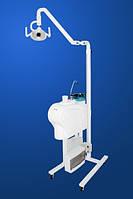 Передвижной блок плевательницы со стоматологическим светильником