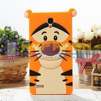 Чехол-бампер силиконовый Xiaomi mi4 m4 Тигр, фото 1