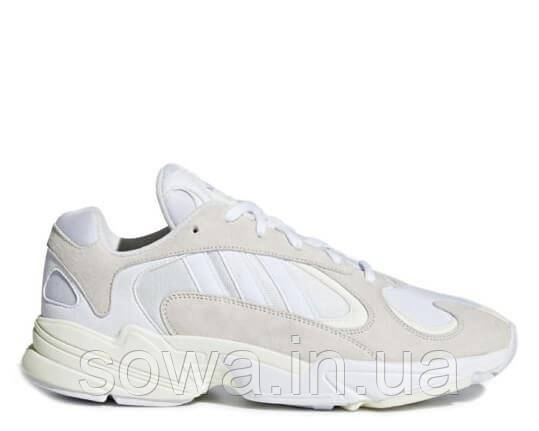 "✔️ Кроссовки Adidas YUNG-1 ""Cloud White"""