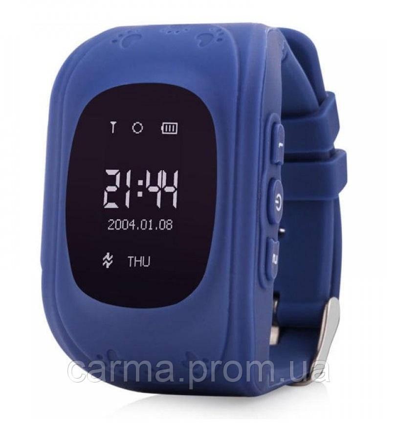 Детские смарт часы Q50, синий