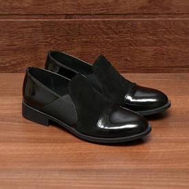 Туфли женские  №005-черные (36, 37, 38, 39, 40)