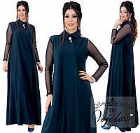 Женское длинное платье сн218 (48--62), фото 1