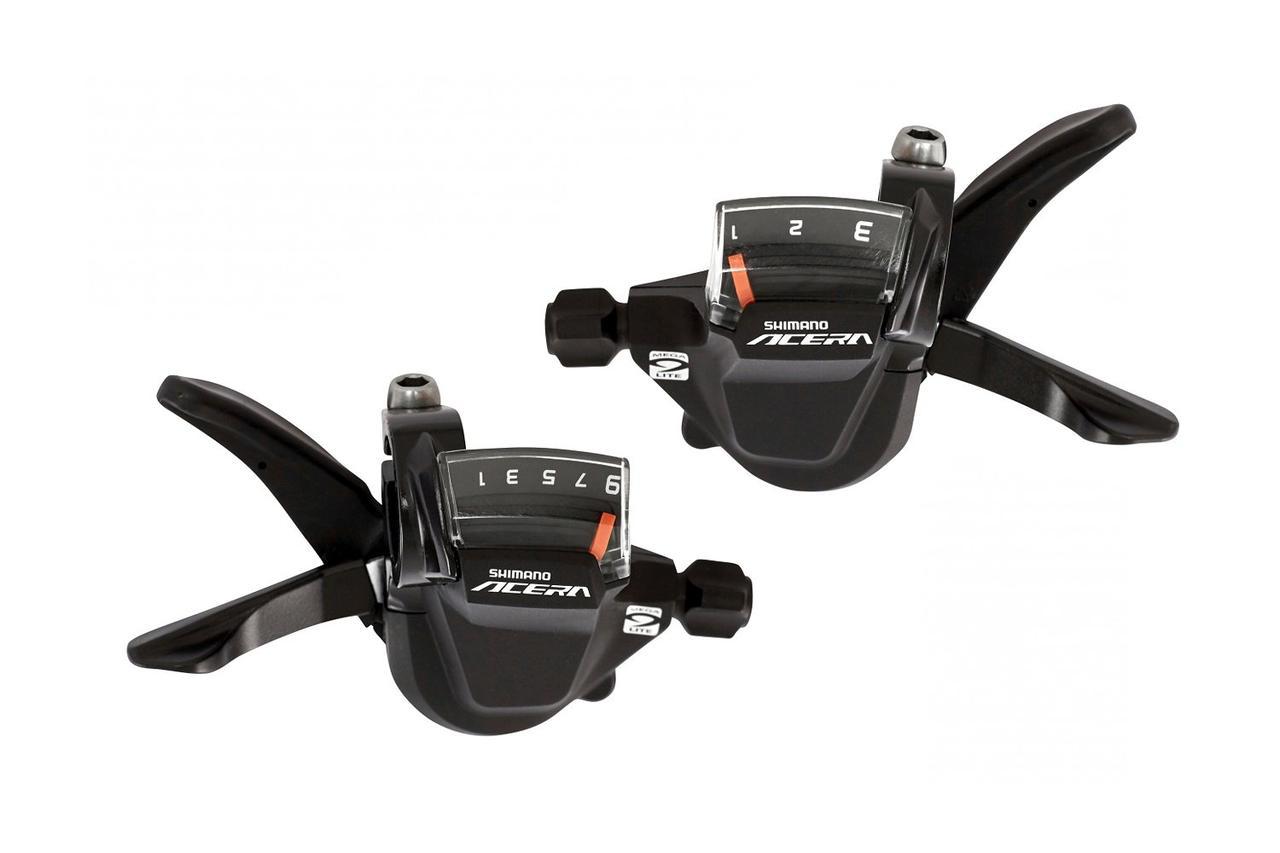 Манетки переключения скоростей Shimano Acera SL-M3000, комплект, (3х9 скоростей)