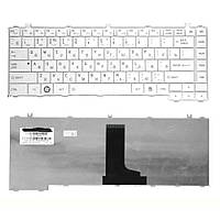 Клавиатура Toshiba Satellite (C600)  White, RU