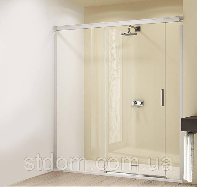 Раздвижная дверь в нишу 160 см Huppe Dwsign Elegance 8E0301092322730 стекло прозрачное Функция Soft-Open-/Soft