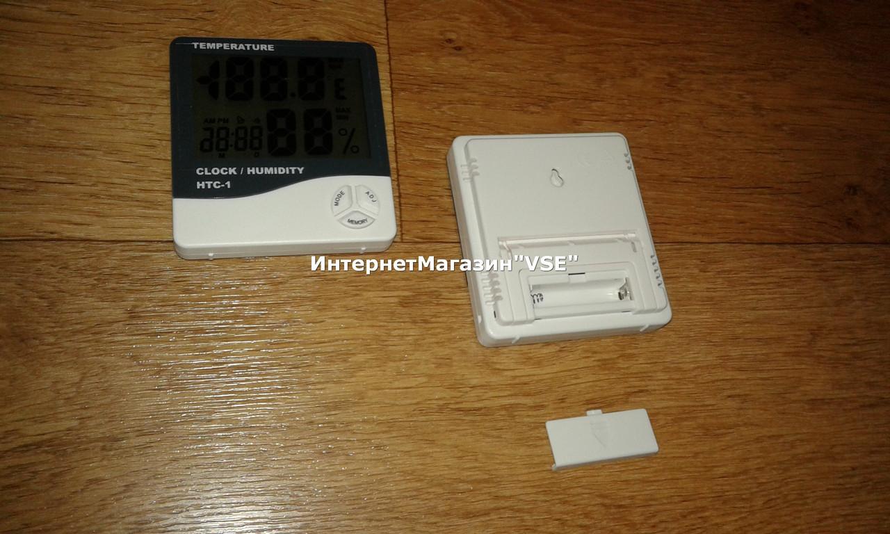 Цифровой термометр гигрометр HТС-1