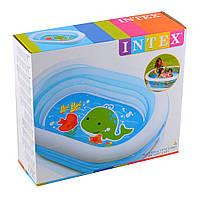 Детский надувной бассейн Intex 57482 «Нежность», бассейны для детей, Интекс