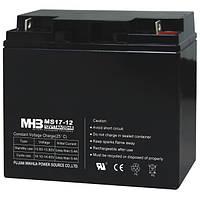 MHB battery Аккумулятор AGM. 17Ач 12В, необслуживаемый герметизированный, модель-MS17-12, MHB battery